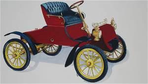 Robert Seabeck (B. 1945) 1903 Model a Roadster