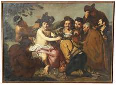 """Monumental Painting, """"The Triumph of Bacchus"""""""