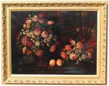 Large European School Old Master Painting