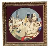 "After Jean Ingres ""The Turkish Bath"" Monumental"