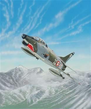 "Steve Ferguson (B. 1946) ""Fiat G91Y"""