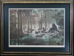 """Wet Trails Inn"" Framed Robert Butler Print"