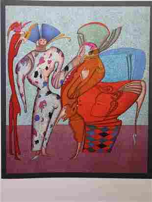 "Mihail Chemiakin (B. 1943) ""Untitled VII"" (38/225)"