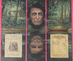 "David K. Stone (1922 - 2001) ""Henry David Thoreau"""