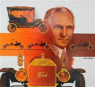 "Dean Ellis (1920 - 2009) ""Henry Ford"""
