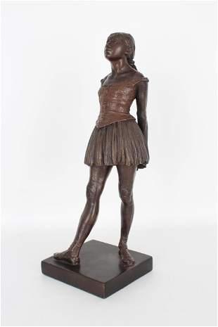 After Degas, Resin Ballerina Figure