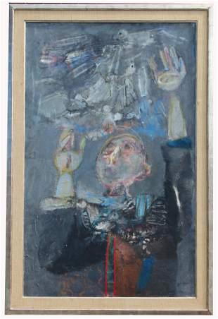 "Paul Guiramand (France, 1926 - 2008) ""L'Oiseleur"""