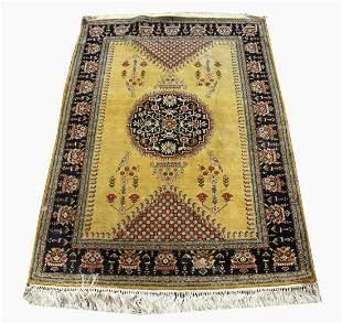 Persian Silk Qum Rug