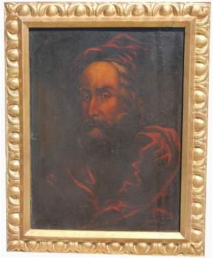 Continental School, Antique Portrait of Gentleman
