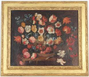 Flemish School, Old Master Still Life Painting