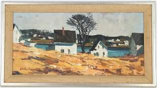 """Alfred C Chadbourn (1921-1998) """"Vinalhaven Maine"""""""