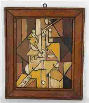 1930s Cubist Composition