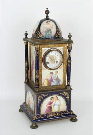 Royal Vienna Porcelain Clock