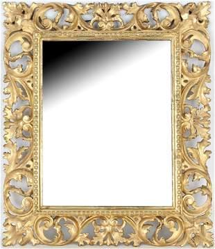 Antique Gilt/Carved Italian Frame
