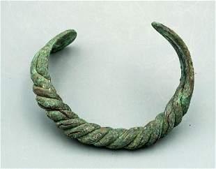Near Eastern Bronze Bracelet, ca. 800 - 600 BC
