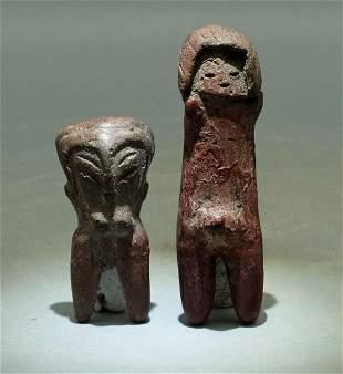 Valdivia Figures - Ecuador, ca. 3500 - 1500 BC