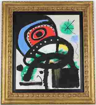 Attributed Joan Miro (1893-1983)