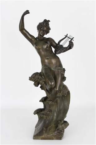 Gustavo Obiols Delgado(1858-1910) Exhibited Bronze