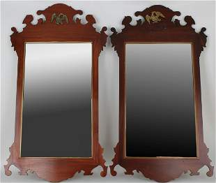 Pair, American Federal Style Mirrors