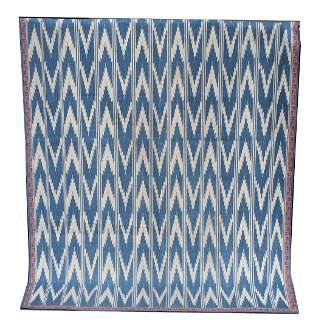20th C. Flat Weave Rug