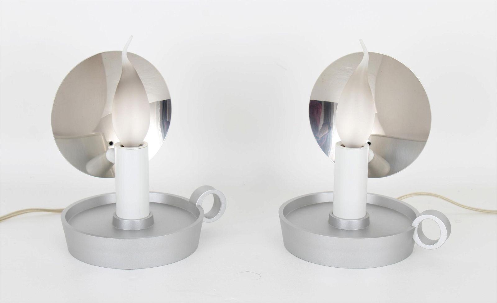 Pair Marcel Wanders, B.L.O. Table Lamp