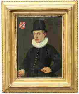 16th C. Old Master Portrait of a Gentleman