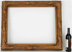 19th/20th C. Carved Giltwood Arts and Crafts Frame