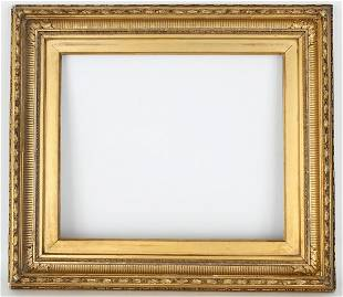 19th C. Carved Giltwood Frame