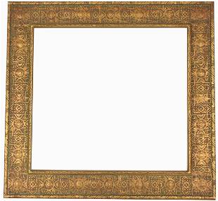 20th C. Carved Giltwood Orientalist Frame