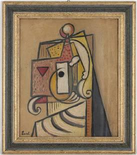 1930s European School Cubist Composition