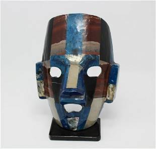 Modern Resin & Composite MultiColored Mask