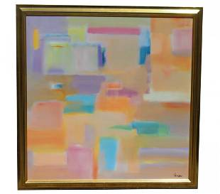 Frederick Faviano (20th C.) Abstract Painting