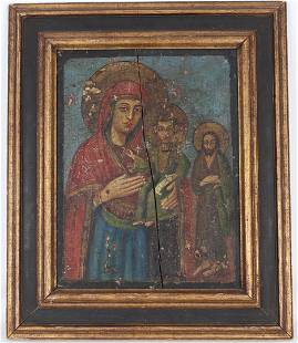 Early Antique Figural Icon