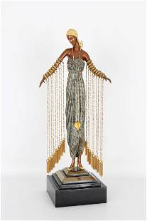 "ERTE ""Zobeide"" Bronze Sculpture"