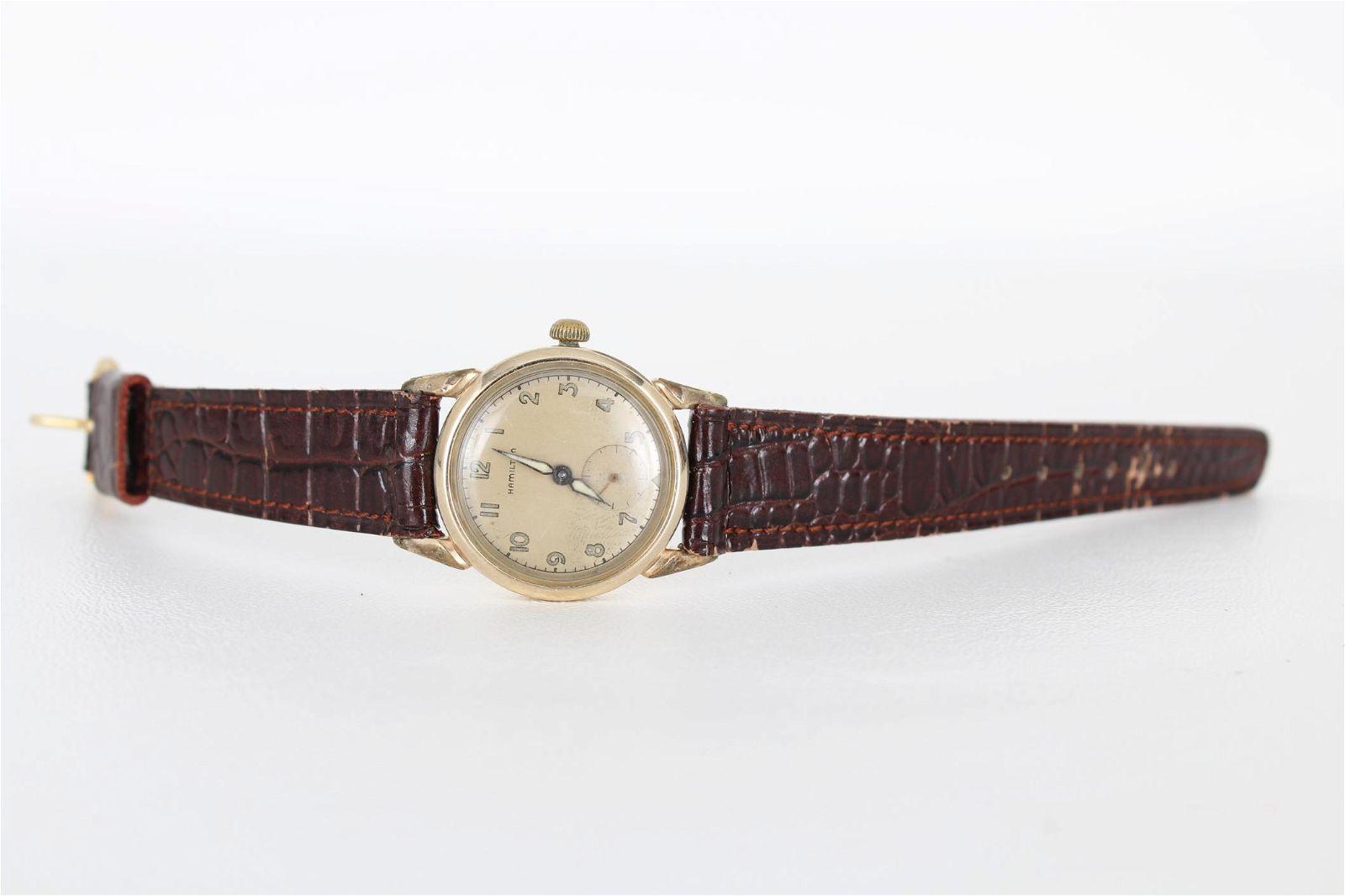 Vintage 10K Hamilton Watch