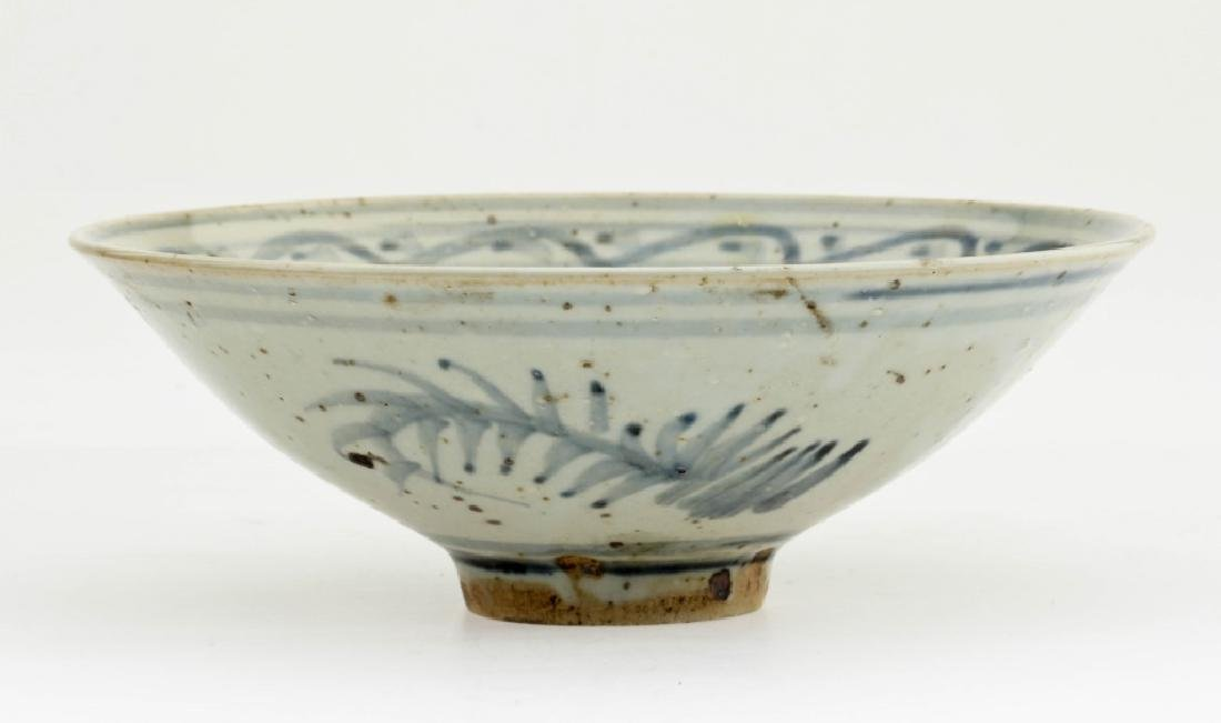 A Chinese Ming Dynasty Blue and White Bowl - 2