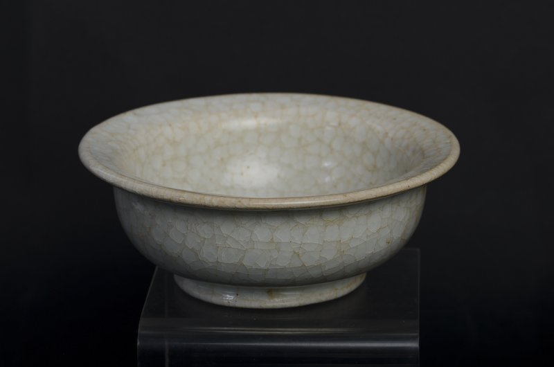 A rare Chinese whitish porcelain bowl - 4