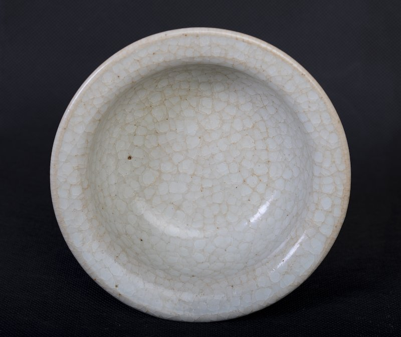 A rare Chinese whitish porcelain bowl - 7