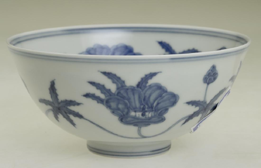 A nice Chinese blue and white bowl - 2