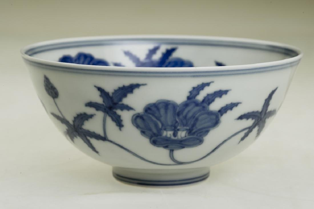 A nice Chinese blue and white bowl - 3