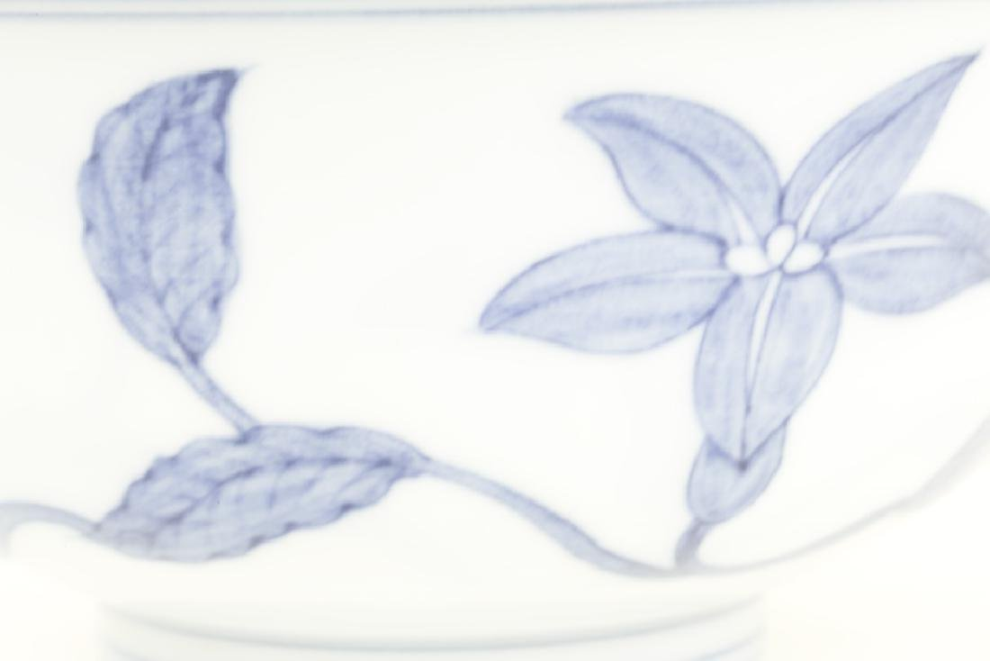 A superb Chinese blue and white bowl - 7