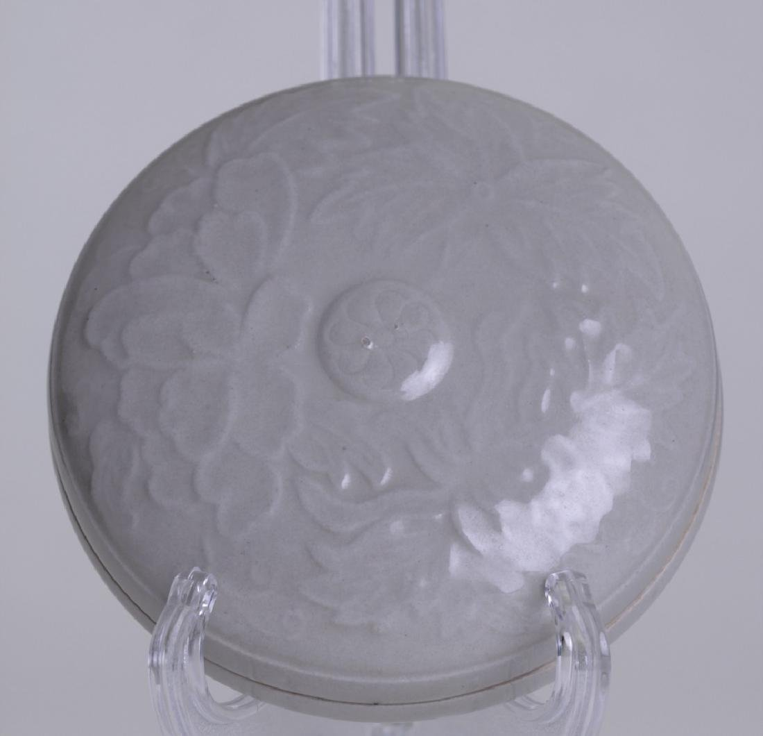 A nice Chinese celadon make-up box