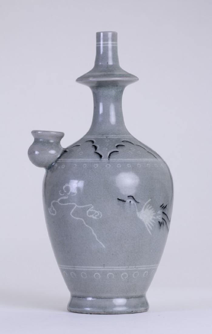 An elegant Chinese hand washing pitcher
