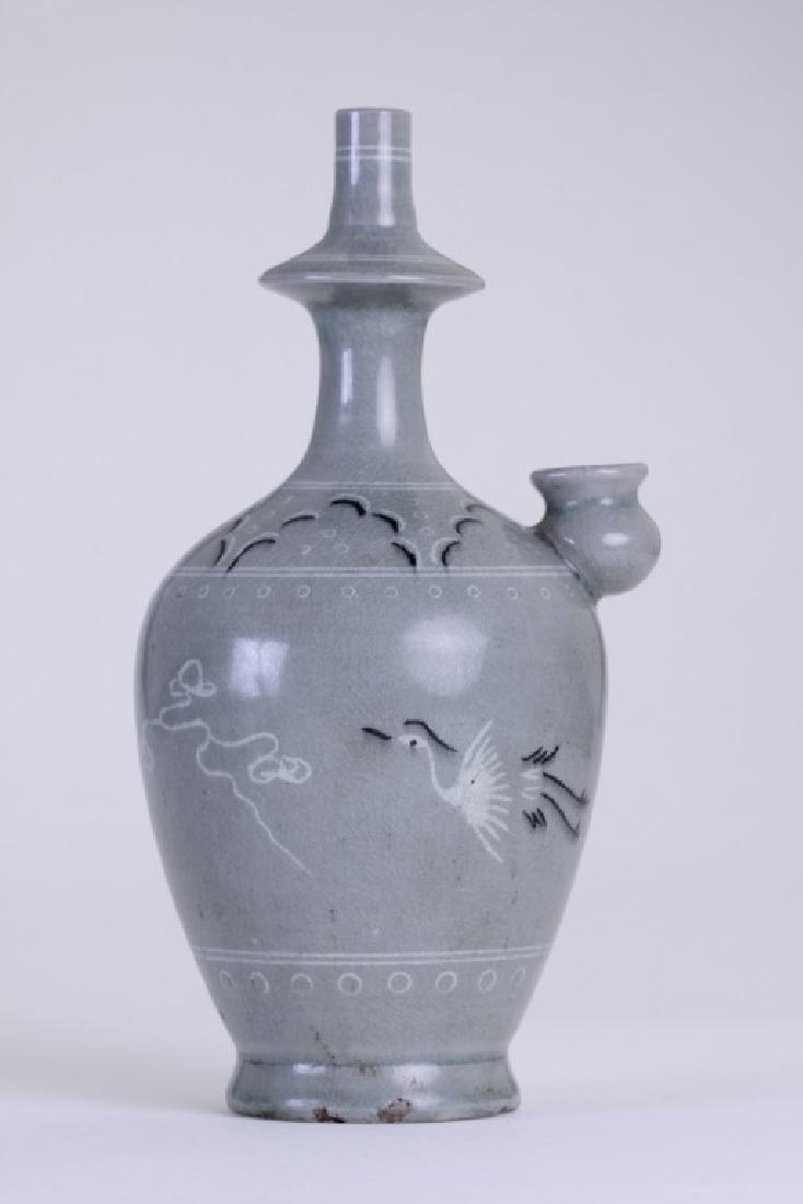 An elegant Chinese hand washing pitcher - 2