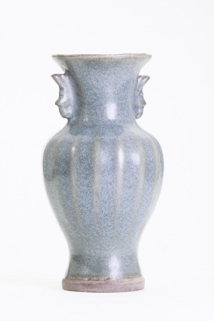 A nice Chinese Jun kiln bottle vase - 3
