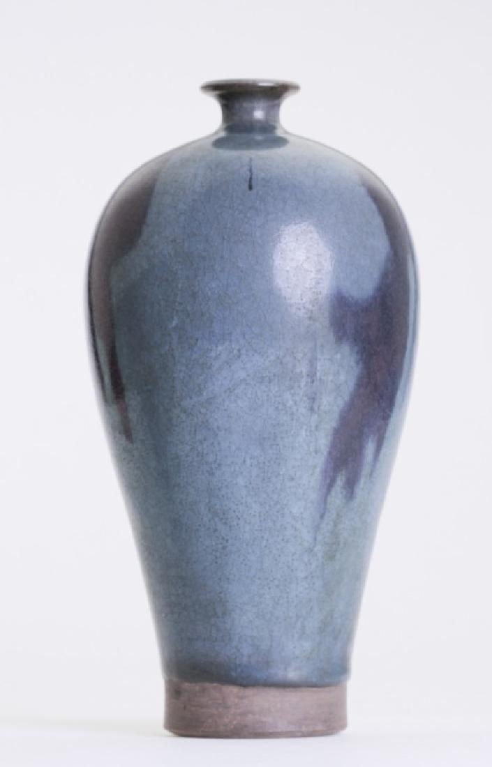 A rare Chinese Jun kiln Mei Ping vase - 2