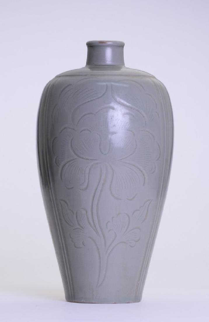 A rare Chinese celadon Mei Ping