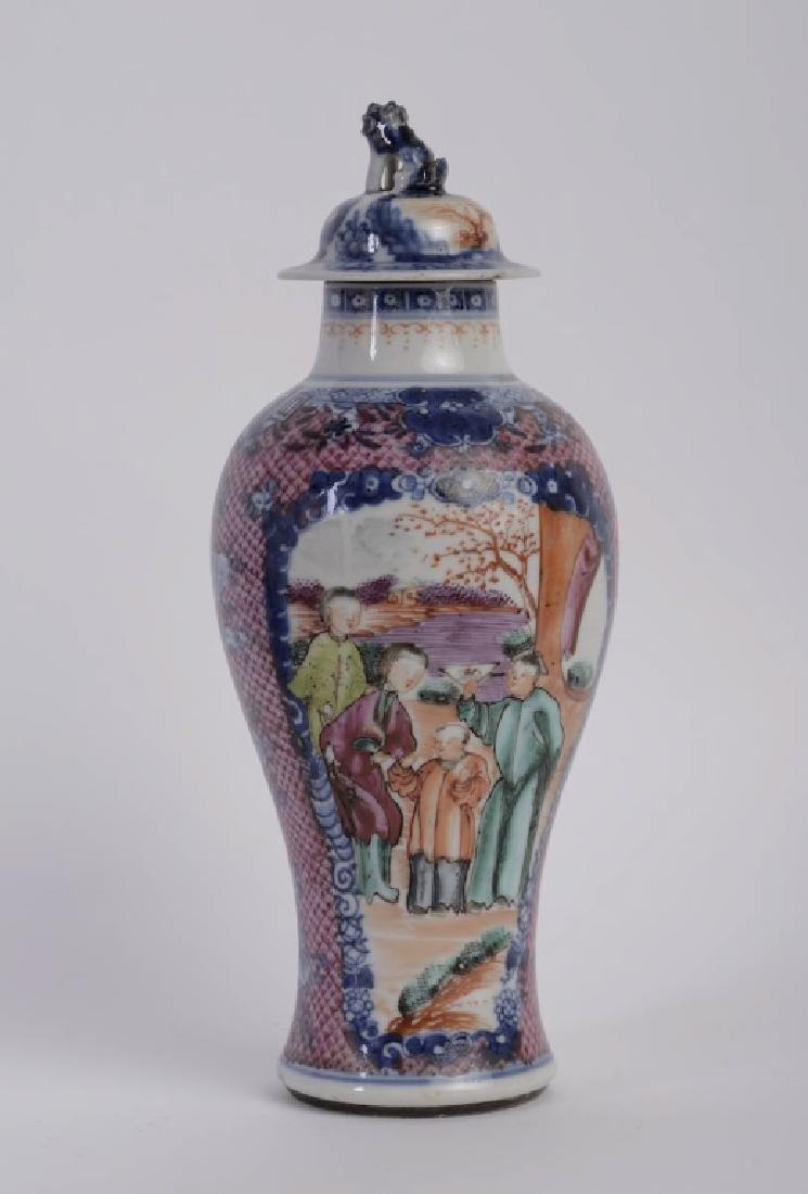 A super elegant Chinese Qian Long vase - 3