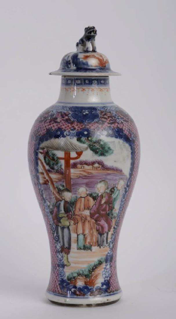A super elegant Chinese Qian Long vase - 5