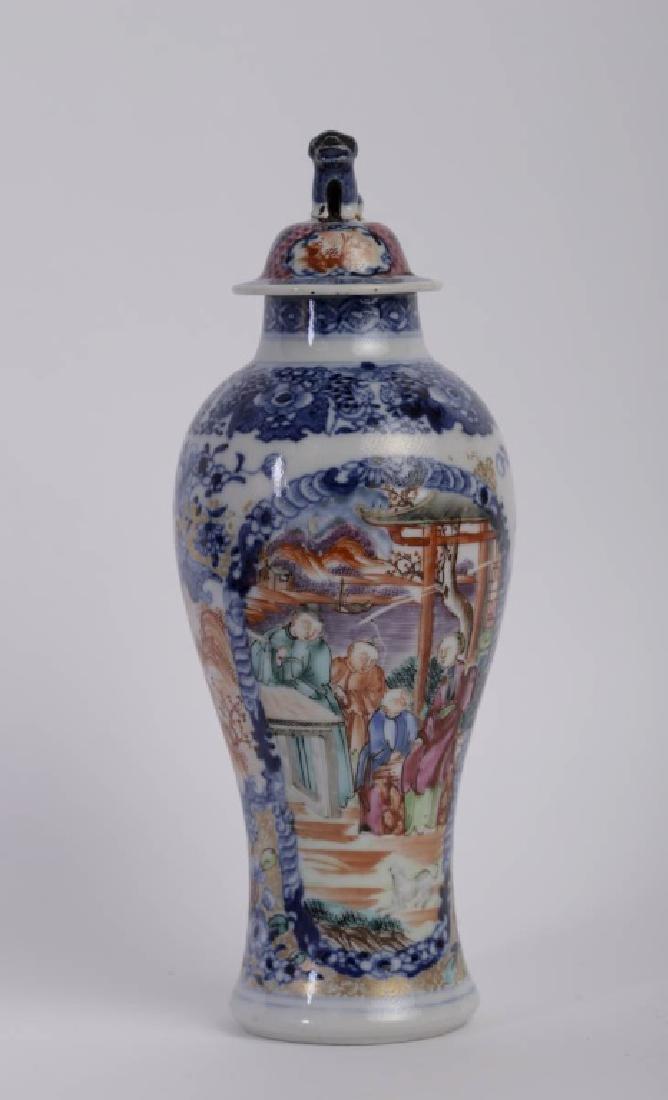 A super elegant Chinese Qian Long vase - 7